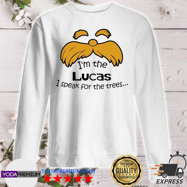 I speak for the trees sweater
