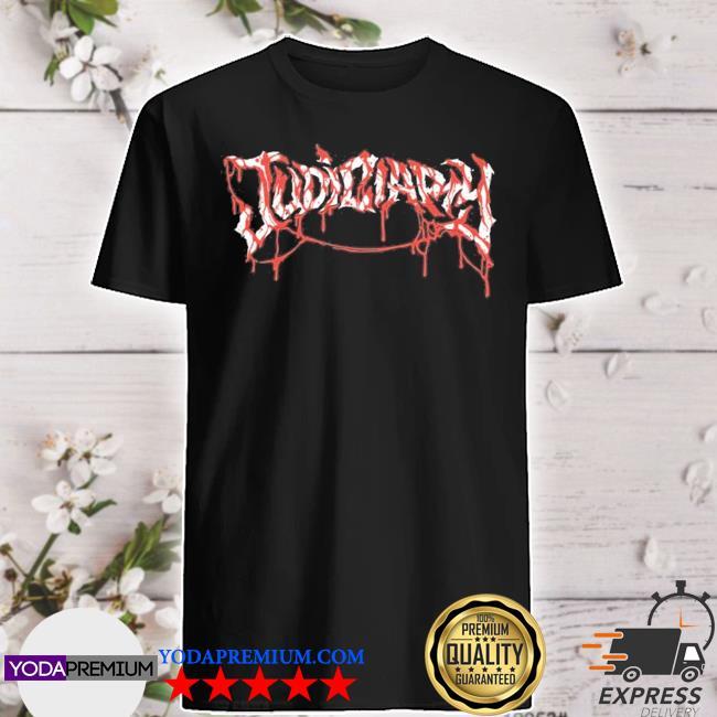 Judiciary blood logo shirt