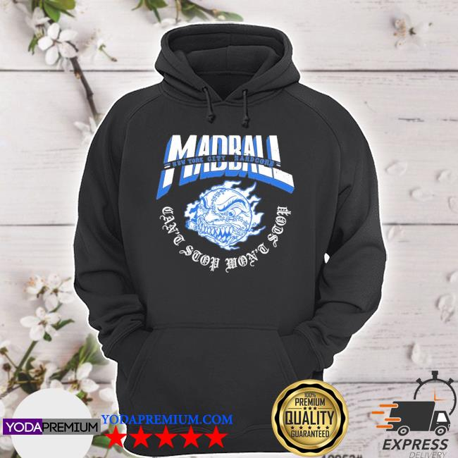 Madball can't stop cut through hoodie