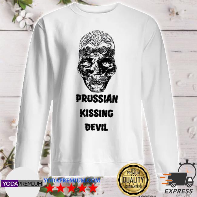 Tesd merch prussian kissing devil sweater