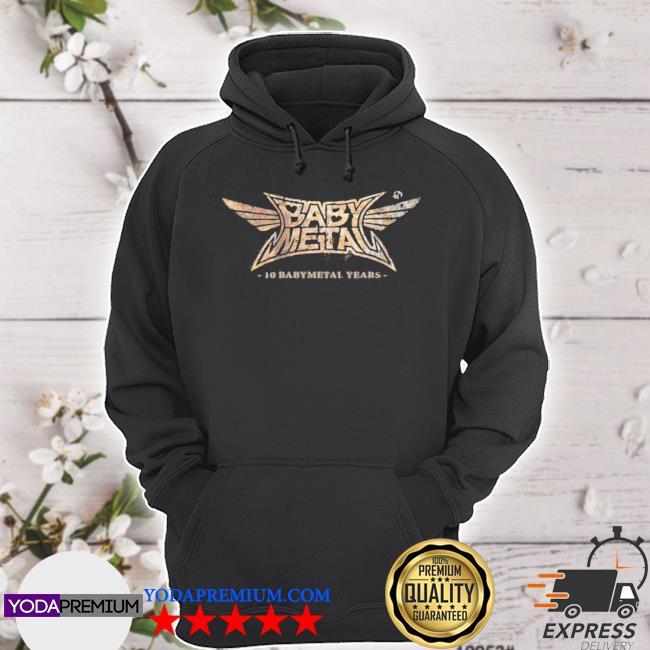 Babymetal store 10 babymetal years hoodie
