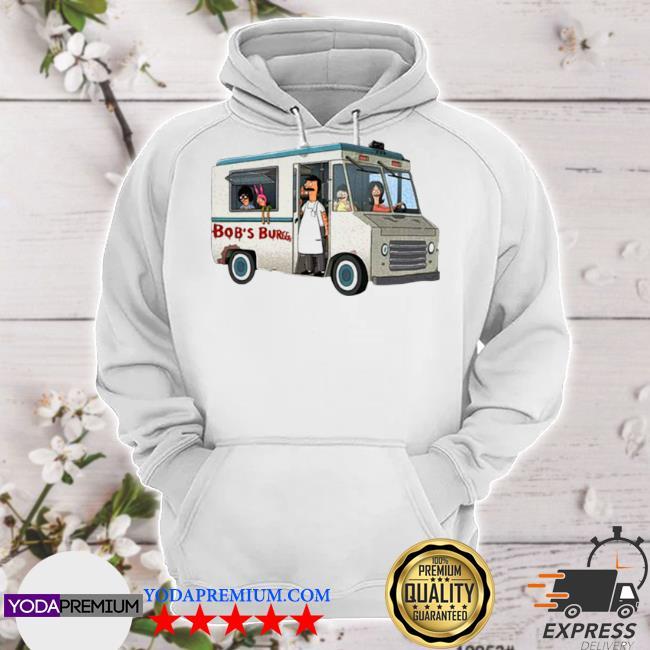 Bob's burgers food truck hoodie