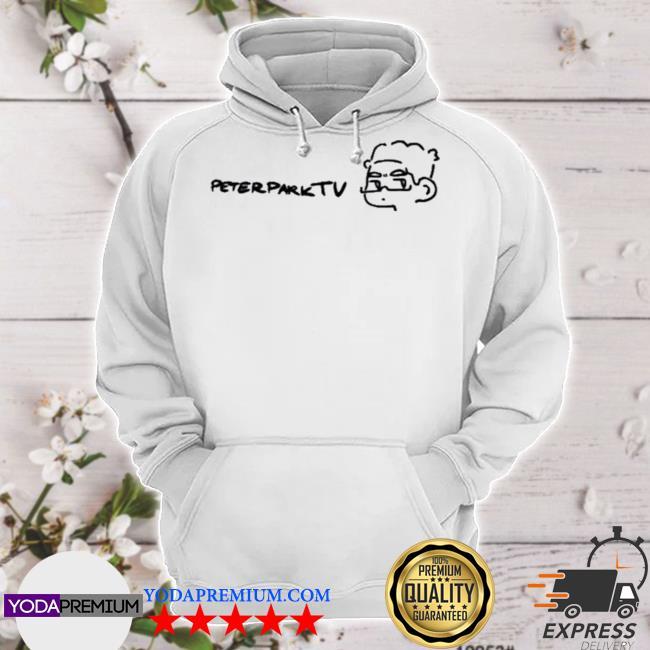 Peterpark minimal peter white hoodie