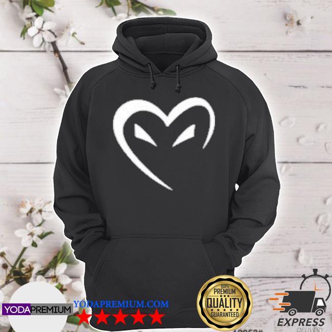 Ph1lza merch heart hoodie