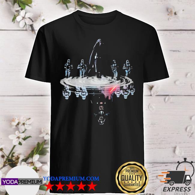 Star wars darth Vader anakin skywalker reflection water mirror shirt