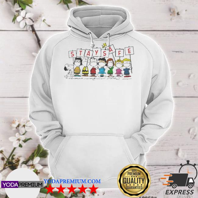 The Peanuts Stay Safe hoodie