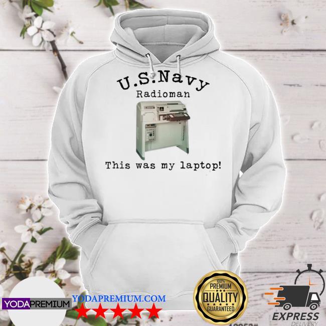 Us navy radioman this was my laptop hoodie
