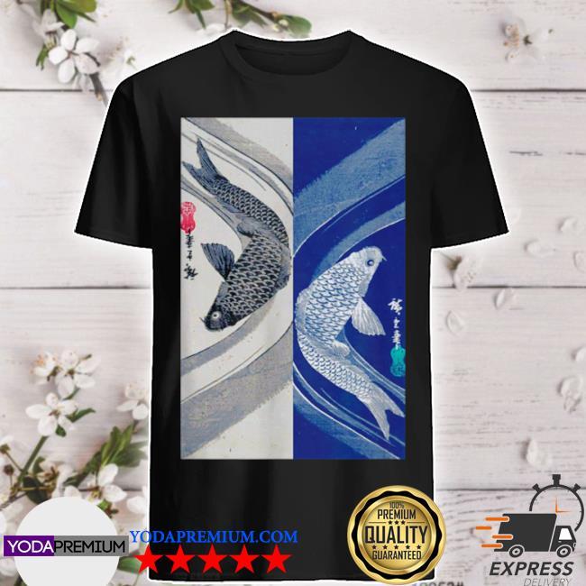 Japanese art fish design 2 shirt