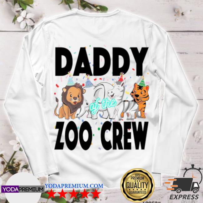 Zoo jungle birthday family costume party daddy longsleeve