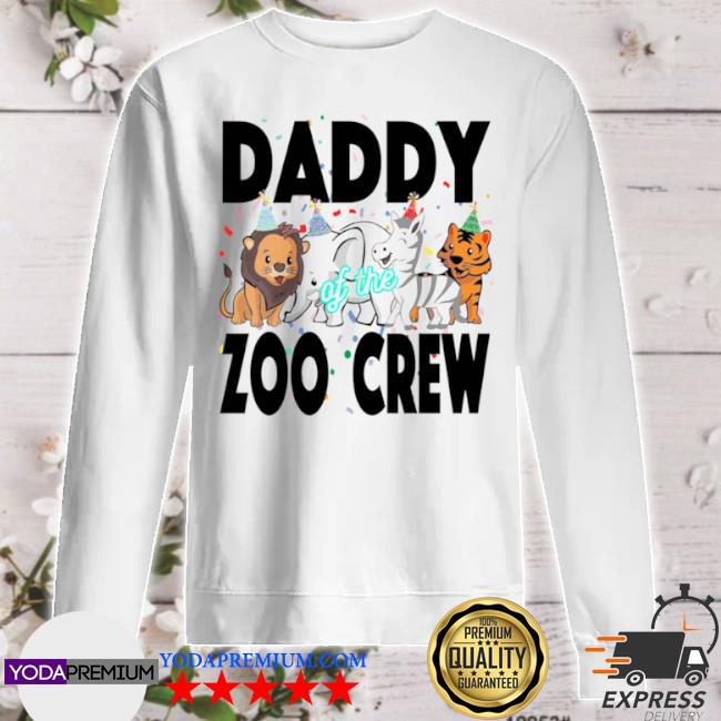 Zoo jungle birthday family costume party daddy sweater