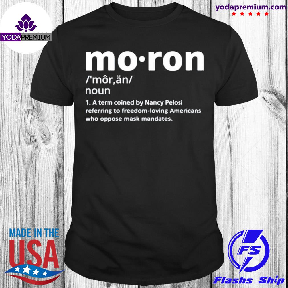 Moron moron kevin mccarthy moron definition shirt
