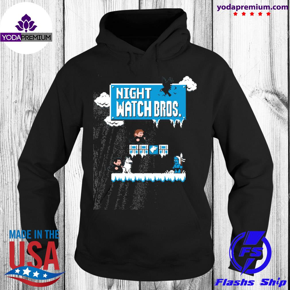 Night watch Bros s unisex hoodie