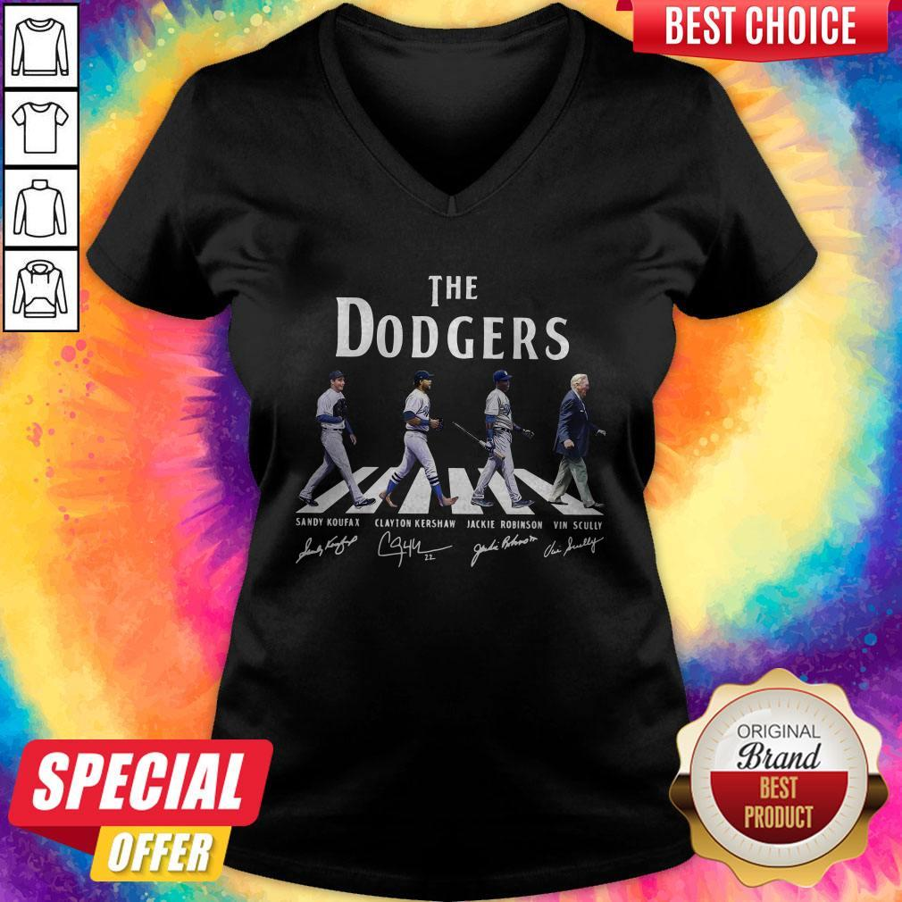 Good The Dodgers Abbey Road Signatures V-neck