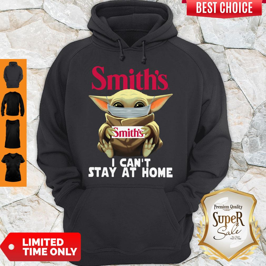 Official Baby Yoda Smith's I Can't Stay At Home Hoodie
