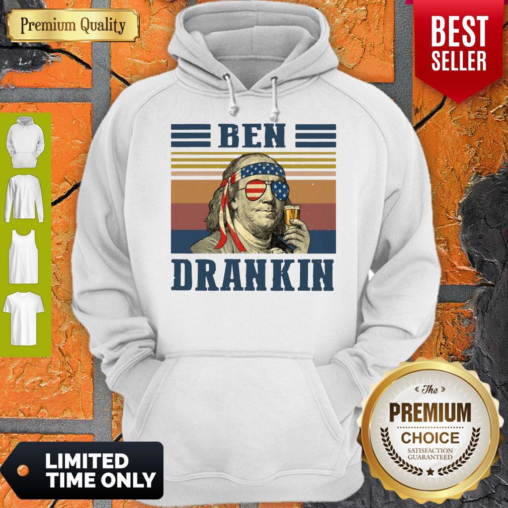 Official Ben Drankin Vintage Hoodie