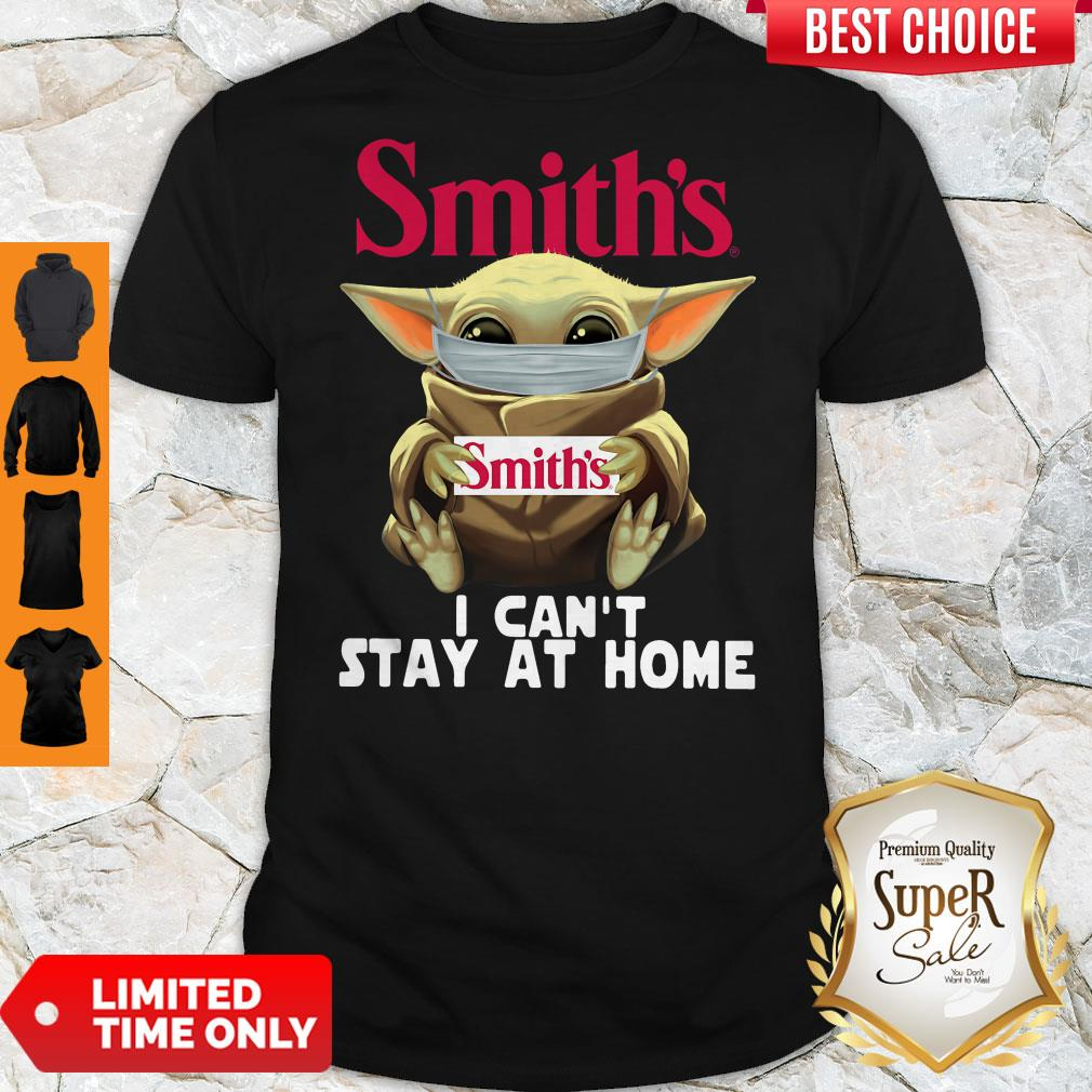Official Baby Yoda Smith's I Can't Stay At Home Shirt