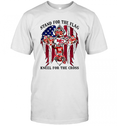 Stand For The Flag Kneel For The Cross T-Shirt Classic Men's T-shirt