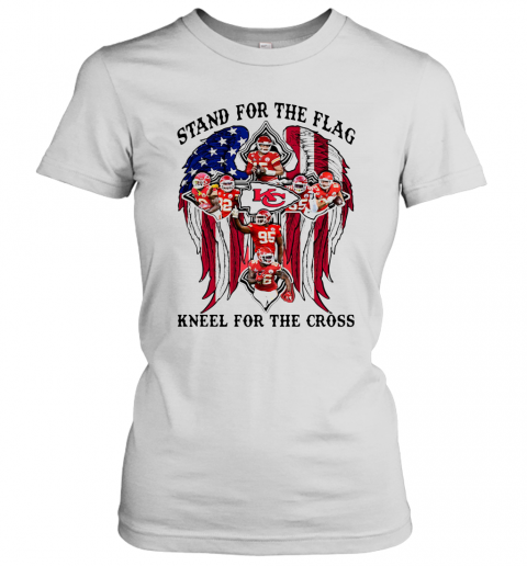 Stand For The Flag Kneel For The Cross T-Shirt Classic Women's T-shirt