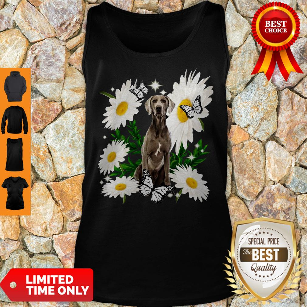 Official Weimaraner Daisy Flower Classic Tank Top