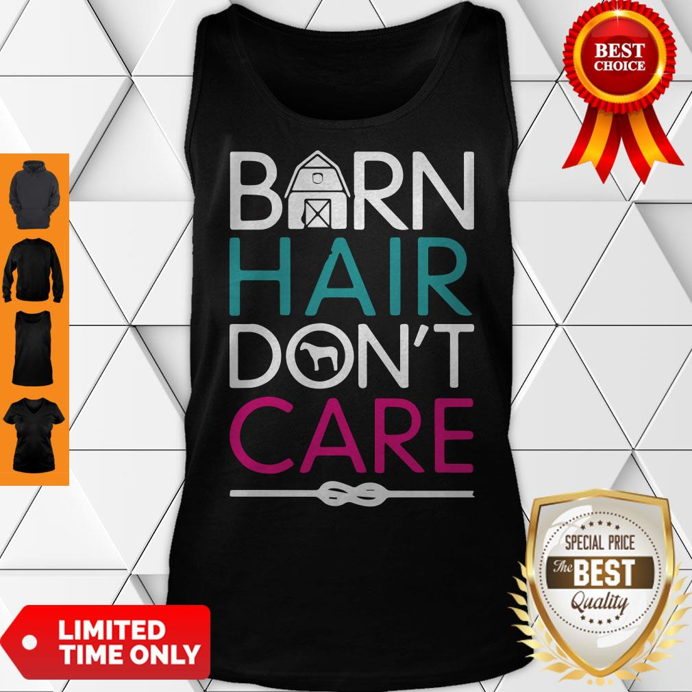 Official Horse Girls Barn Hair Don't Care Women Riding Gifts Classic Tank Top