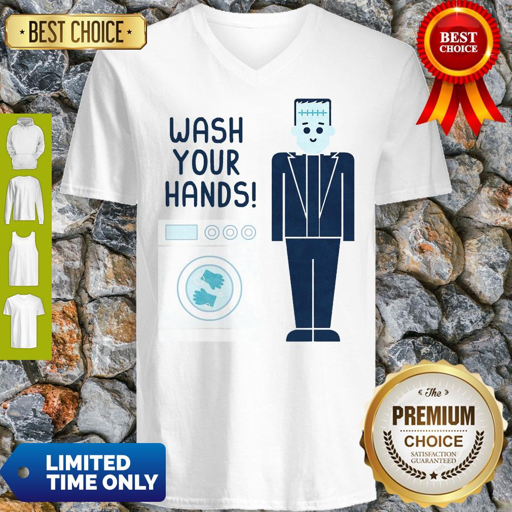 Official Wash Your Hands Classic V-neck