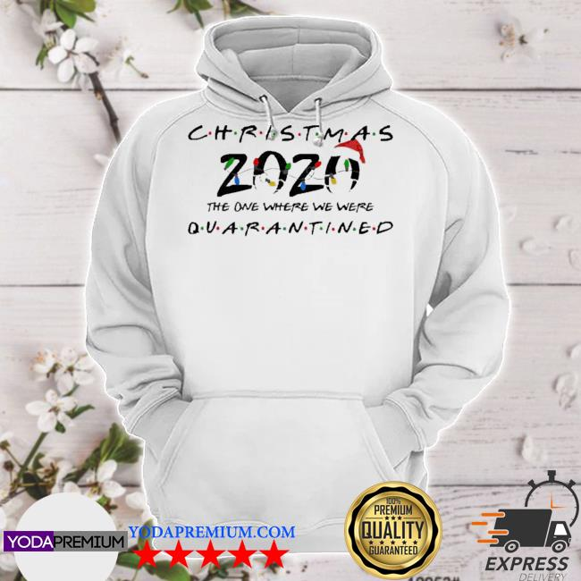2020 Christmas the one where we were quarantined s hoodie