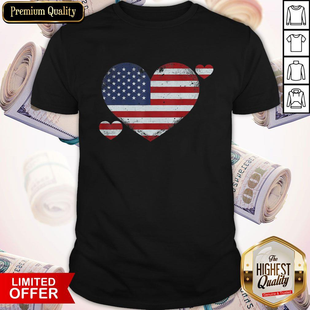 4th of July Patriotic Pride Distressed Official Perfect Shirt