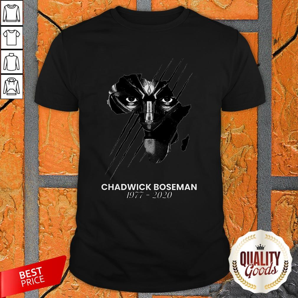 'Black Panther' Star Chadwick Boseman Passes Away Shirt