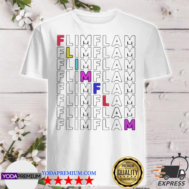 Flamingo flim flam shirt