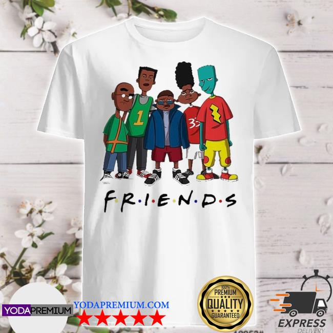 Friends we are black history month shirt