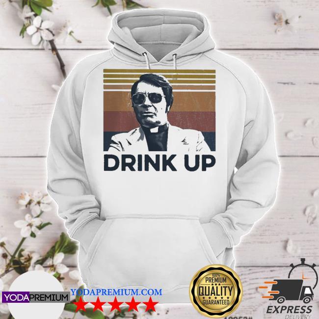 Jim jones drink up vintage retro s hoodie
