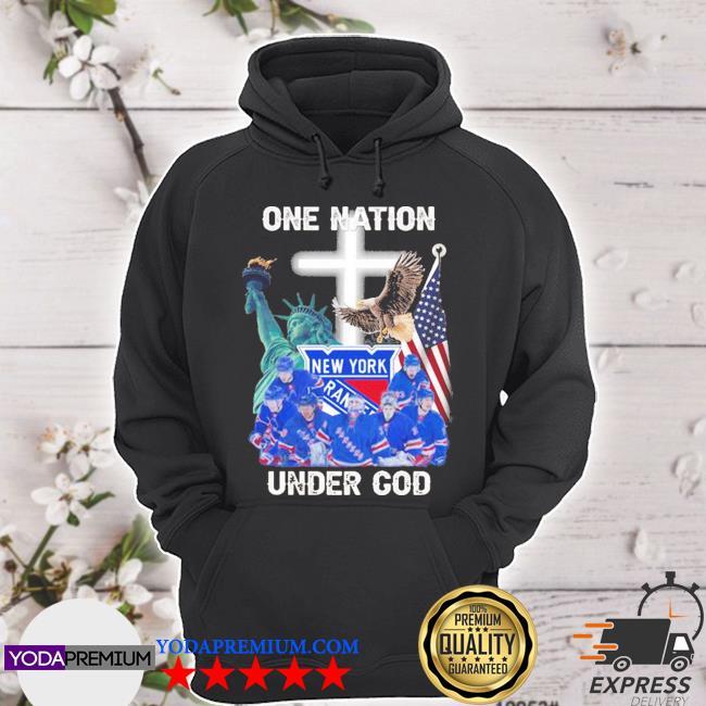New york rangers one nation under god 2020 s hoodie