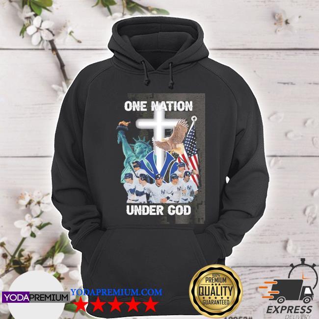 New york yankees one nation under god s hoodie