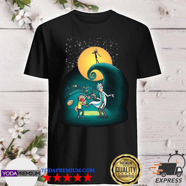 Official Rick and Morty Nightmare Before Christmas shirt