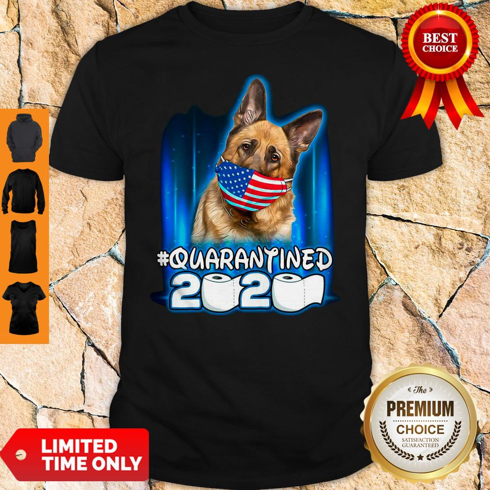 Becgie Face Mask American Flag Quarantined 2020 Toilet Paper Shirt
