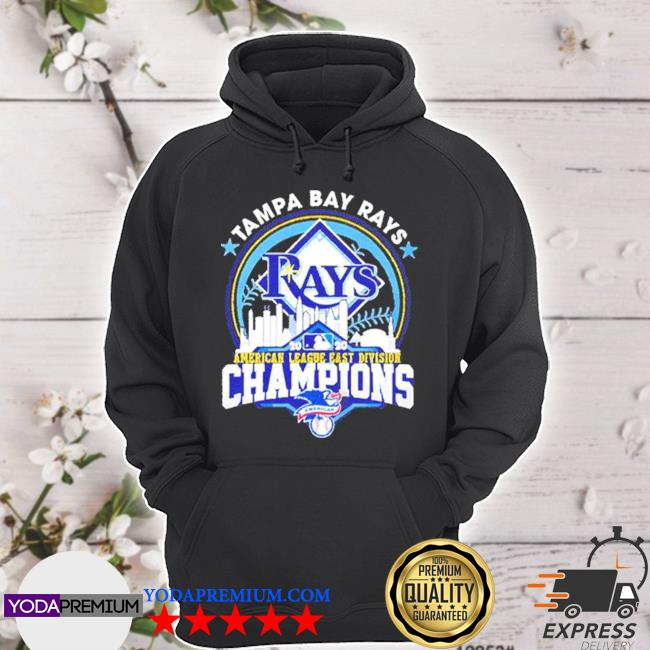 Tampa bay rays american league east division champion us 2020 s hoodie
