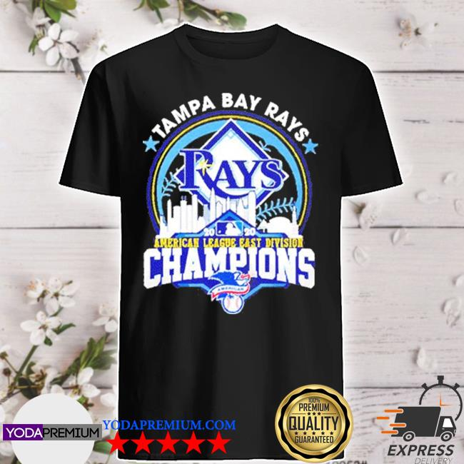 Tampa bay rays american league east division champion us 2020 shirt