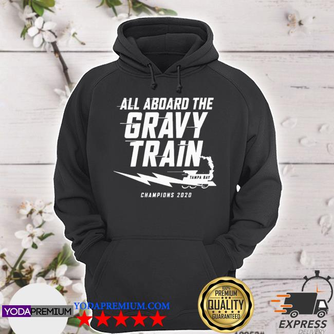 All aboard the gravy train tampa bay lightning s hoodie