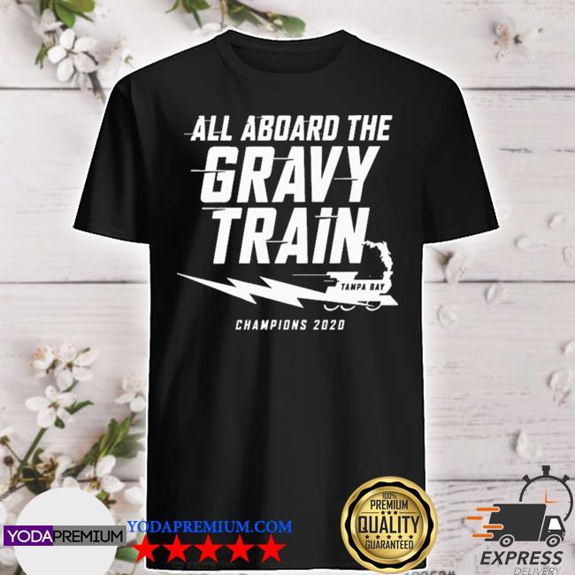 All aboard the gravy train tampa bay lightning shirt