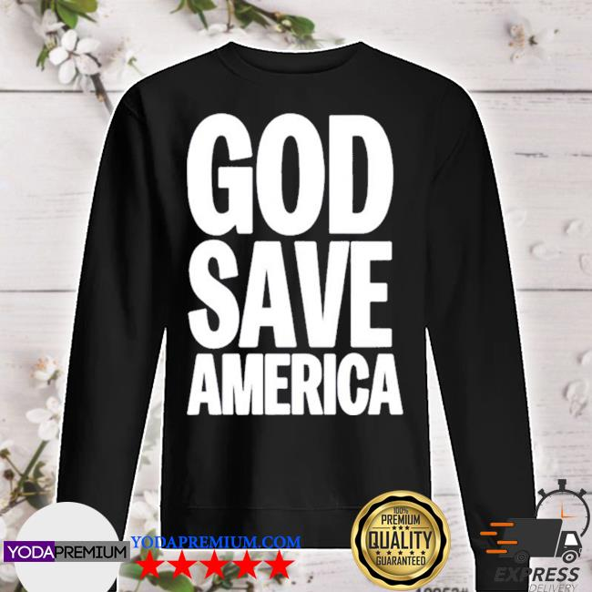God save america 2020 s sweater