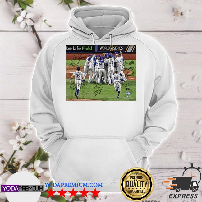 Official team los angeles dodgers mlb world series champions 2020 s hoodie