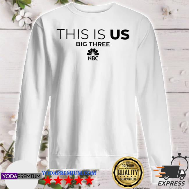 Official this is us big three nbc s sweater