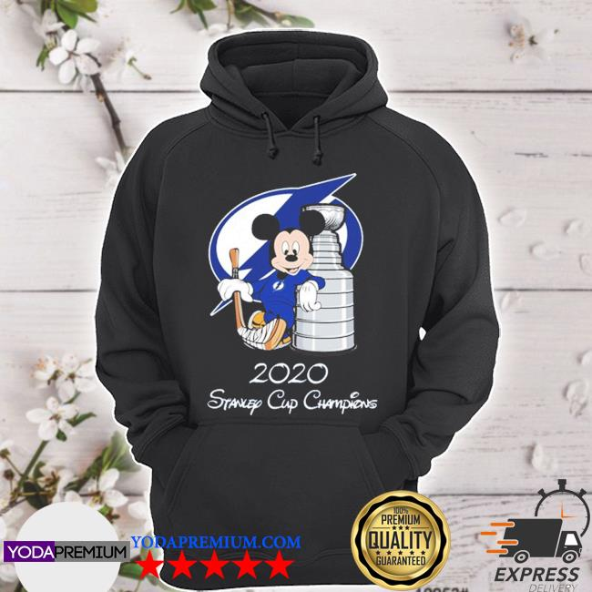 Tampa bay lightning mickey mouse 2020 stanley cup champions s hoodie