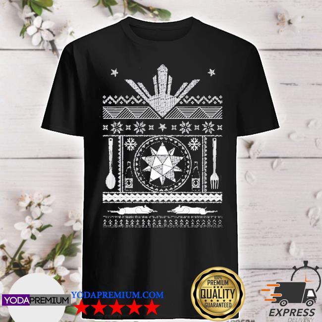 Official filipino ugly christmas shirt