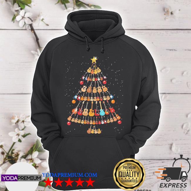 Official guitar christmas tree s hoodie
