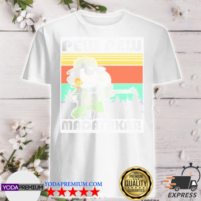 Official snoopy pew pew madafakas shirt