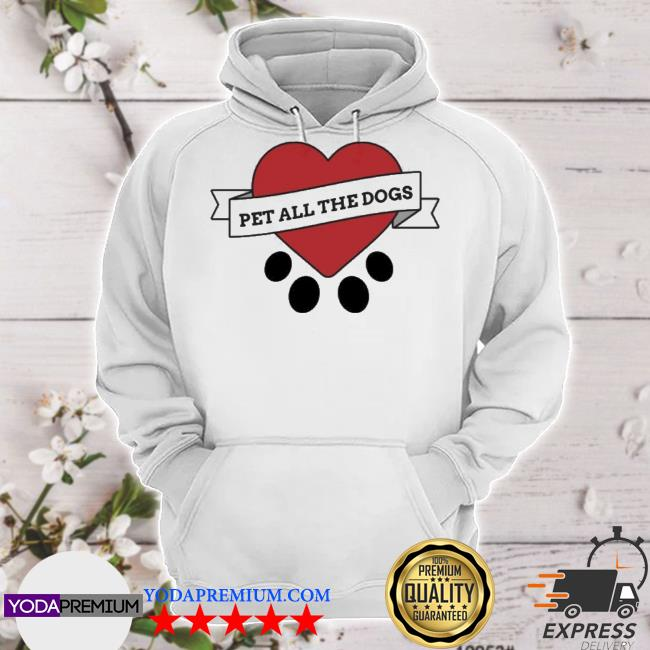 Official we rate dogs merch pet all the dogs s hoodie