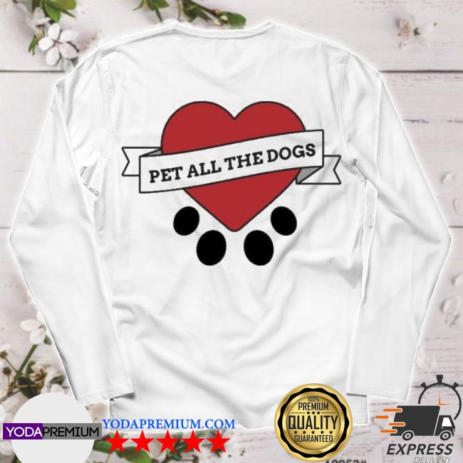 Official we rate dogs merch pet all the dogs s longsleeve