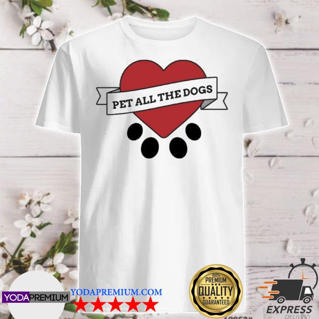 Official we rate dogs merch pet all the dogs shirt