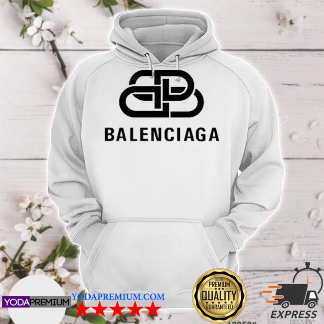 Official bb balenciaga logo s hoodie